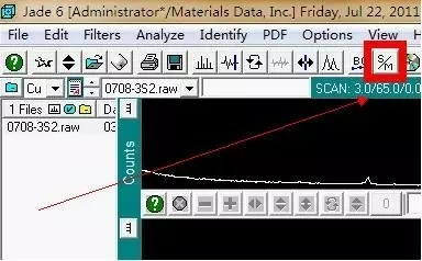 【jade6.5教程】xrd物相分析(内附jade6.5软件+PDF卡片)